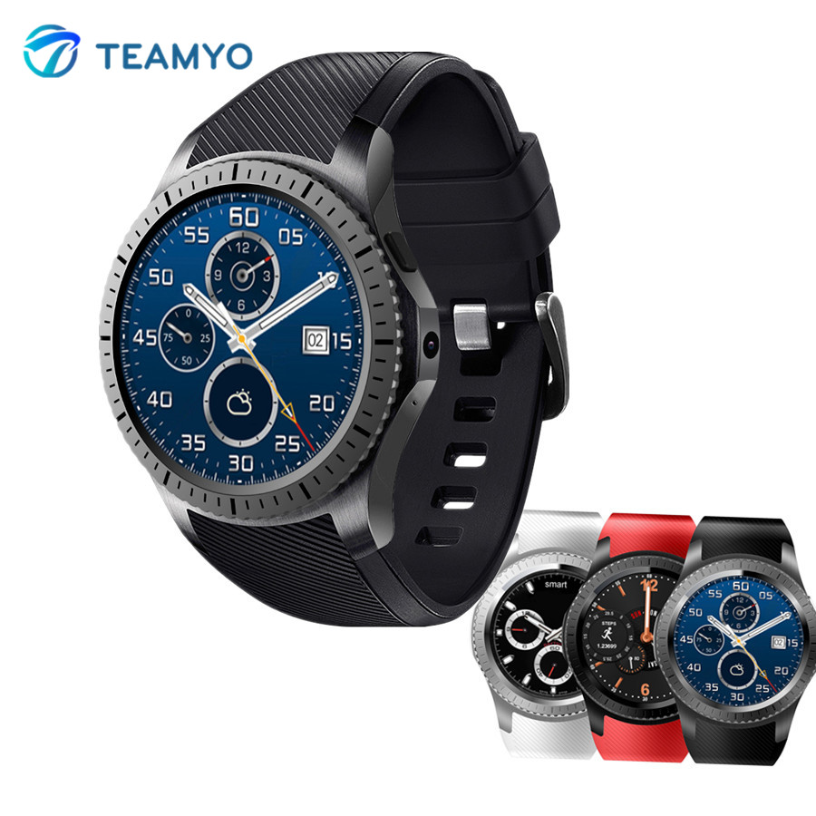 Teamyo GW11 Bluetooth Smart Watch Heart Rate Monitor Smart Relogio with Camera 2.0M WIFI GPS 3G Smartwatch support SIM Card fashion s1 smart watch phone fitness sports heart rate monitor support android 5 1 sim card wifi bluetooth gps camera smartwatch