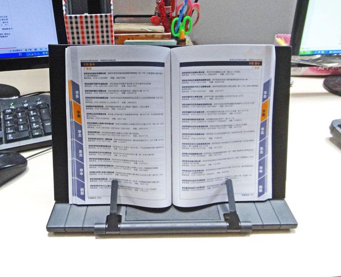 Portable Book Holder Folding Tablet Tablature Computer Alette rack Data rack Reading frame bookend clip Table desk stand 28*18cm цена