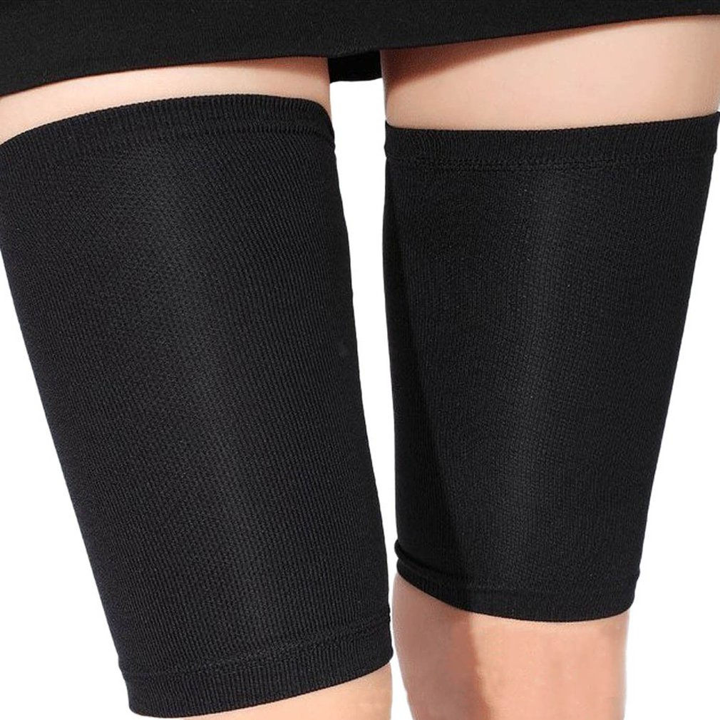 2018 Fashion Thigh Burn Fat Socks Leggings Leg Warmers Pressure Fat Thin Leg Pants Burning Fat Guard 1 Pair Waist Cinchers