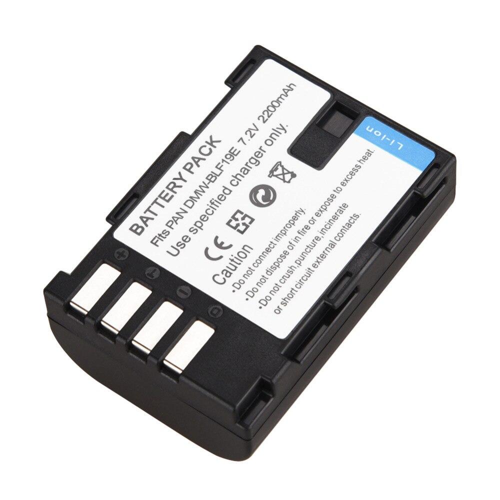 BLF19 Rechargeable Li-ion Battery 2200mAh Camera Replacement Bateria For Panasonic Lumix DMC-GH3 DMW-GH4 DMW-GH5 Backup BatteriaBLF19 Rechargeable Li-ion Battery 2200mAh Camera Replacement Bateria For Panasonic Lumix DMC-GH3 DMW-GH4 DMW-GH5 Backup Batteria