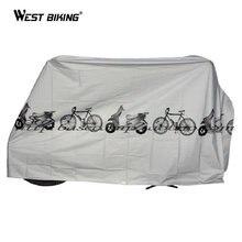 WEST BIKING Anti-dust Bicycle Raincover Mountain Bike Cover High Quality Bicicleta Ciclismo Accessories Bike Raincover