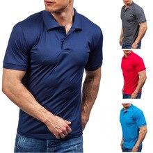 Zogaa однотонные рубашки поло с коротким рукавом для мужчин Горячая Летняя хлопковая Повседневная рубашка Яркие Рубашки Мужская брендовая одежда