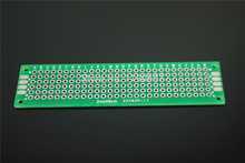 PCB Board Universal Board Double Faced Tin Plate 20mm*80mm*1.6mm 2*8CM Test Board 10PCS Free Shipping