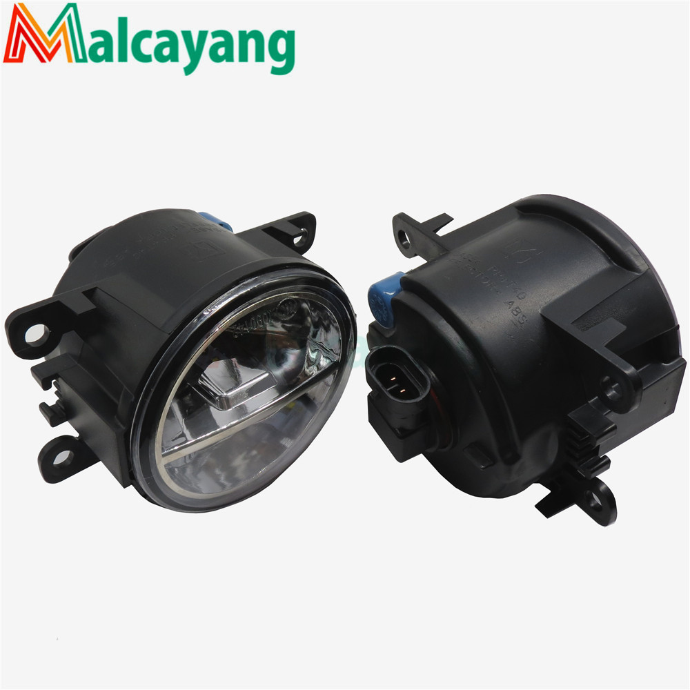 1set Car-styling LED fog lamps10W high brightness lights For Renault Duster Fluence Kangoo scenic Sandero 2002-2015 for lexus rx gyl1 ggl15 agl10 450h awd 350 awd 2008 2013 car styling led fog lights high brightness fog lamps 1set