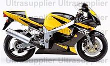 Yellow Black Silver ABS Plastic Full Body Injection Fairing Kit for 2001-2003 Suzuki GSXR 600 750 GSXR600 GSXR750 2002 Bodywork(China)