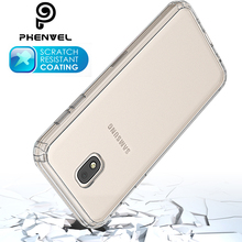 купить TPU + PC transparent bumper cover for samsung galaxy j5 pro 2017 J530F impact protective case по цене 194.09 рублей
