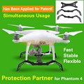 Sunnylife Awesome Protection Partner of Heightened Landing Gear Stabilizer + Camera Gimbal Protection Guard for DJI Phantom 4