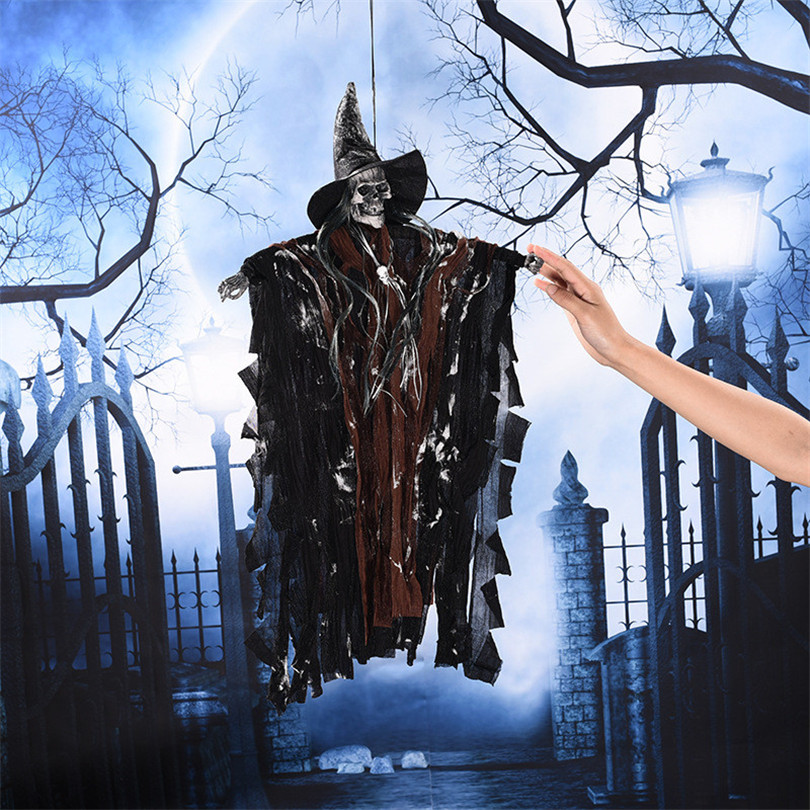 Halloween Party Decoration Hanging Ghost Voice Control
