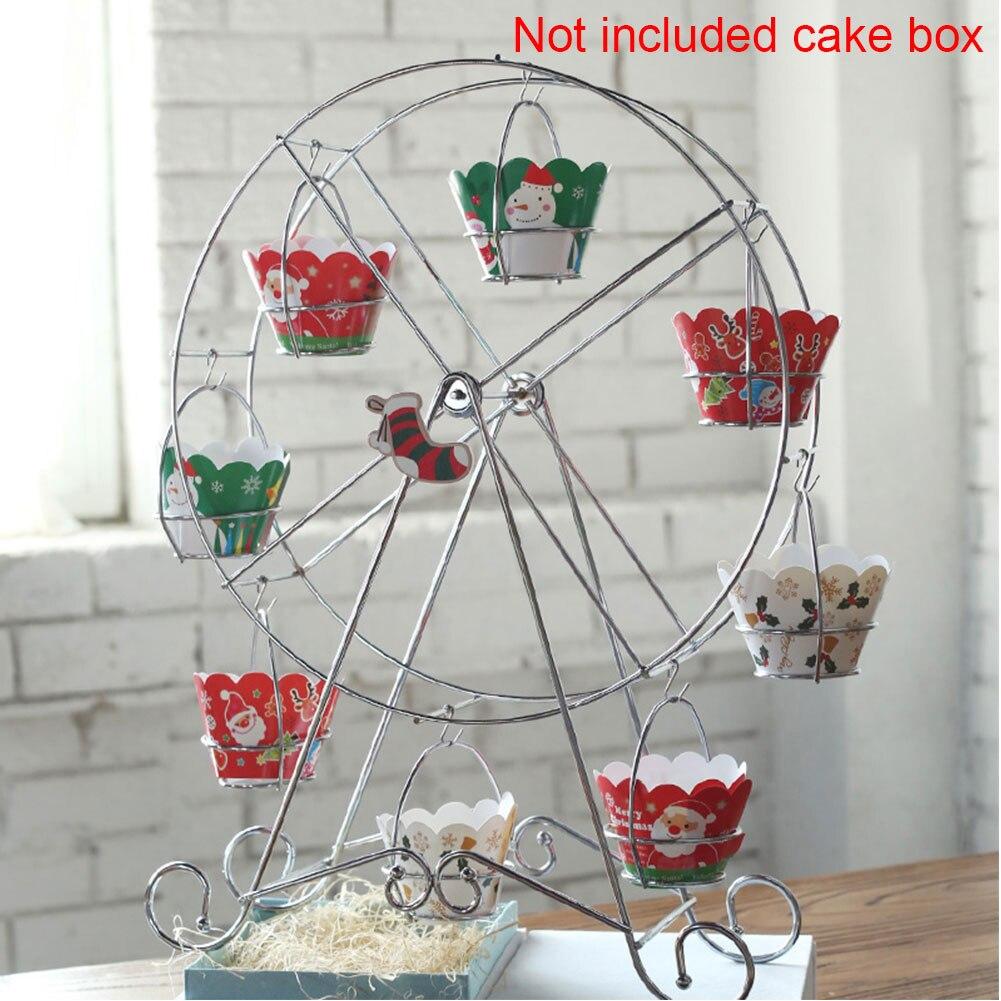 suprimentos bolo carrinho roda gigante cozinha uso