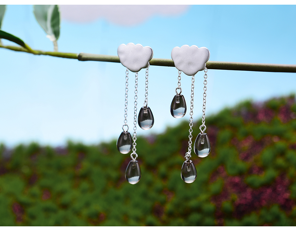 HTB1WvC3AmtYBeNjSspkq6zU8VXaH - Lotus Fun Real 925 Sterling Silver Natural Crystal Gems Fine Jewelry Ethnic Cloud Long Tassel Drop Earrings for Women Brincos
