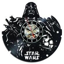 CV Wall Clock Star War Cool Design