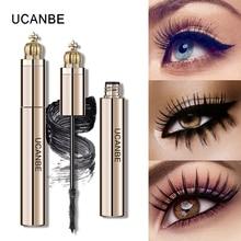 UCANBE Luxury Gold Volume Mascara Curling Lengthening Black Smudge-proof Thick Eyelash Quick Dry Eye Makeup Tool