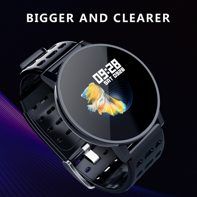 Makibes T3 Smart watch waterproof Activity Fitness tracker HR Blood oxygen Blood pressure Clock Men women smartwatch PK V11 1
