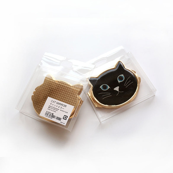 Lovely Cat Makeup Compact Mirror Pocket Cosmetic Mirror Hand Mirror Dropshipping Wholesale 6