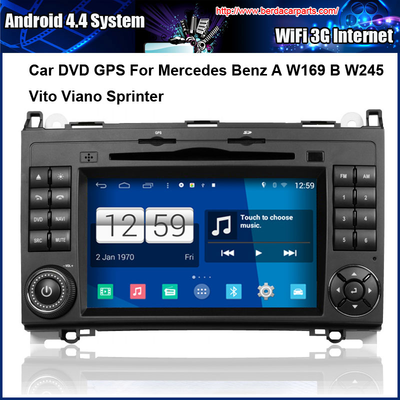 Android car dvd player for mercedes benz a b class w169 for Mercedes benz app for android