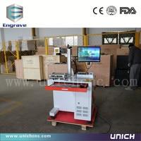 Jinan Cheap Auto UP DN Platform 20w Cable Marking Machine