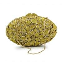 Luxury Flower Crystal Evening Bags Special Design Handbag Girl S Party Purse Wedding Clutch Shoulder Bag