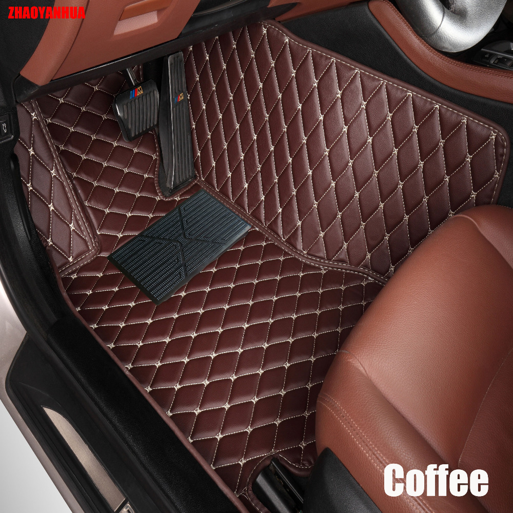 Zhaoyanhua car floor mats for nissan altima rouge x trail murano sylphy versa tiida 6d car styling carpet floor liner in floor mats from automobiles