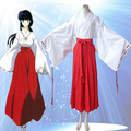 High Quality Custom Made Kikyo Cosplay Costume from Inuyasha Anime Christmas Holloween Plus Size (S-6XL)
