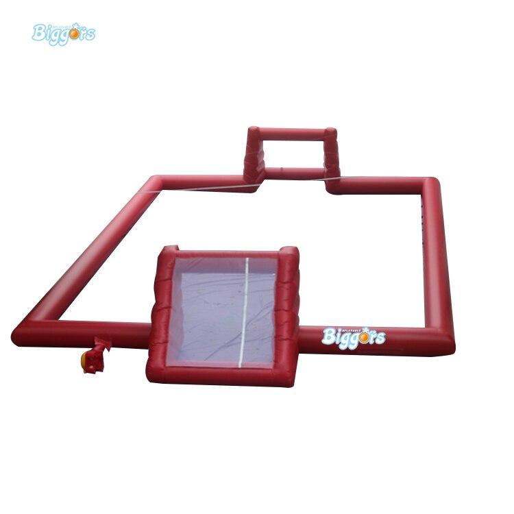 Terrain de jeu gonflable matériel d'arène de Sport de terrain de Football de terrain de Football de PVC pour l'activité extérieure d'enfants