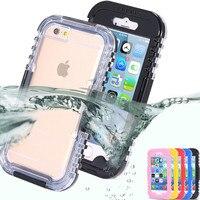 Dla IPhone 6 s Akcesoria Podwodne Pływanie Agua Przypadku Telefonu dla IPhone 6 plus Case Wodoodporna Odkryty Futerały Ochronne 6 6 splus