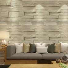 Качество мрамора кирпич обои классическая старинные 3D настенная блок / камень / кирпичная стена бумаги тв пвх стиль сша обои