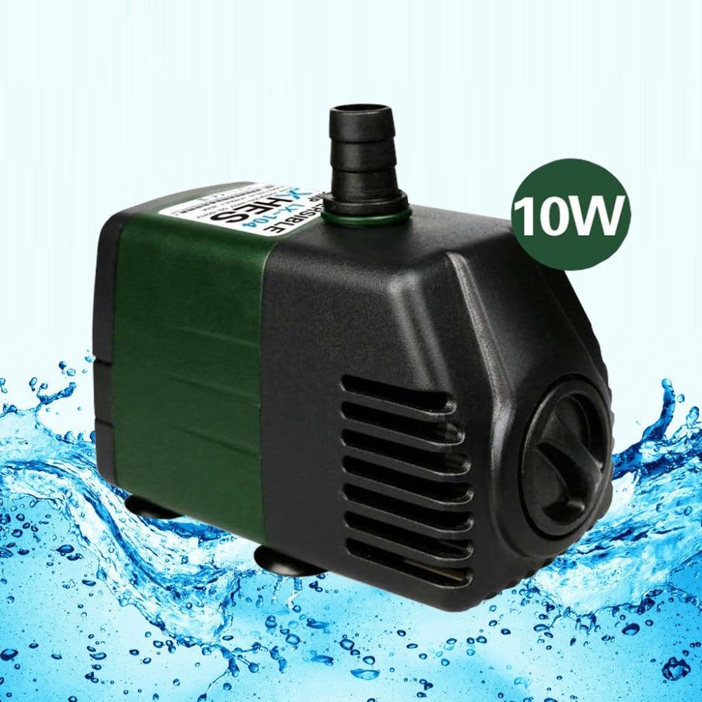 264gph Submersible Pump Aquarium Fish Tank Powerhead Fountain Water Hydroponic
