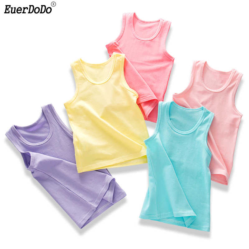 Candy Colored Cotton Tank Tops For Girls Boys Tank Top Girl Underwear Kids  Undershirt Baby Summer Wear|Tanks & Camis| - AliExpress