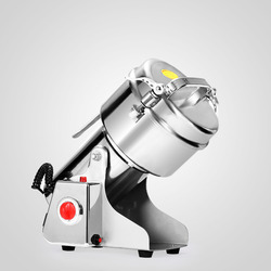 500g Molen Poeder Machine Swing Commerciële Elektrische Korenmolen Grinder voor Kruid Verstuiver Voedsel Grade Rvs