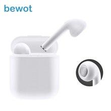 Bewot TWS Bluetooth Earphone Wireless Headphones In-ear Fone De Ouvido Stereo With Mic For Smart Phone Xiaomi