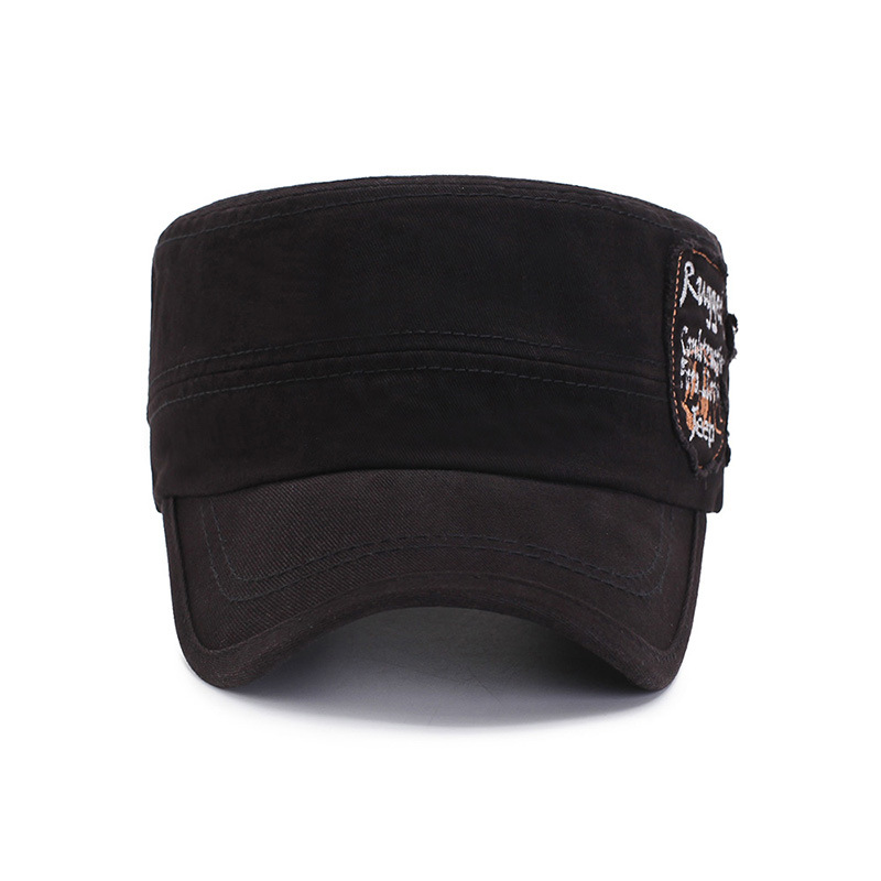 Distressed Vintage Knit Baseball Army Cap Hat Warm Soft Fall Winter Womens Mens