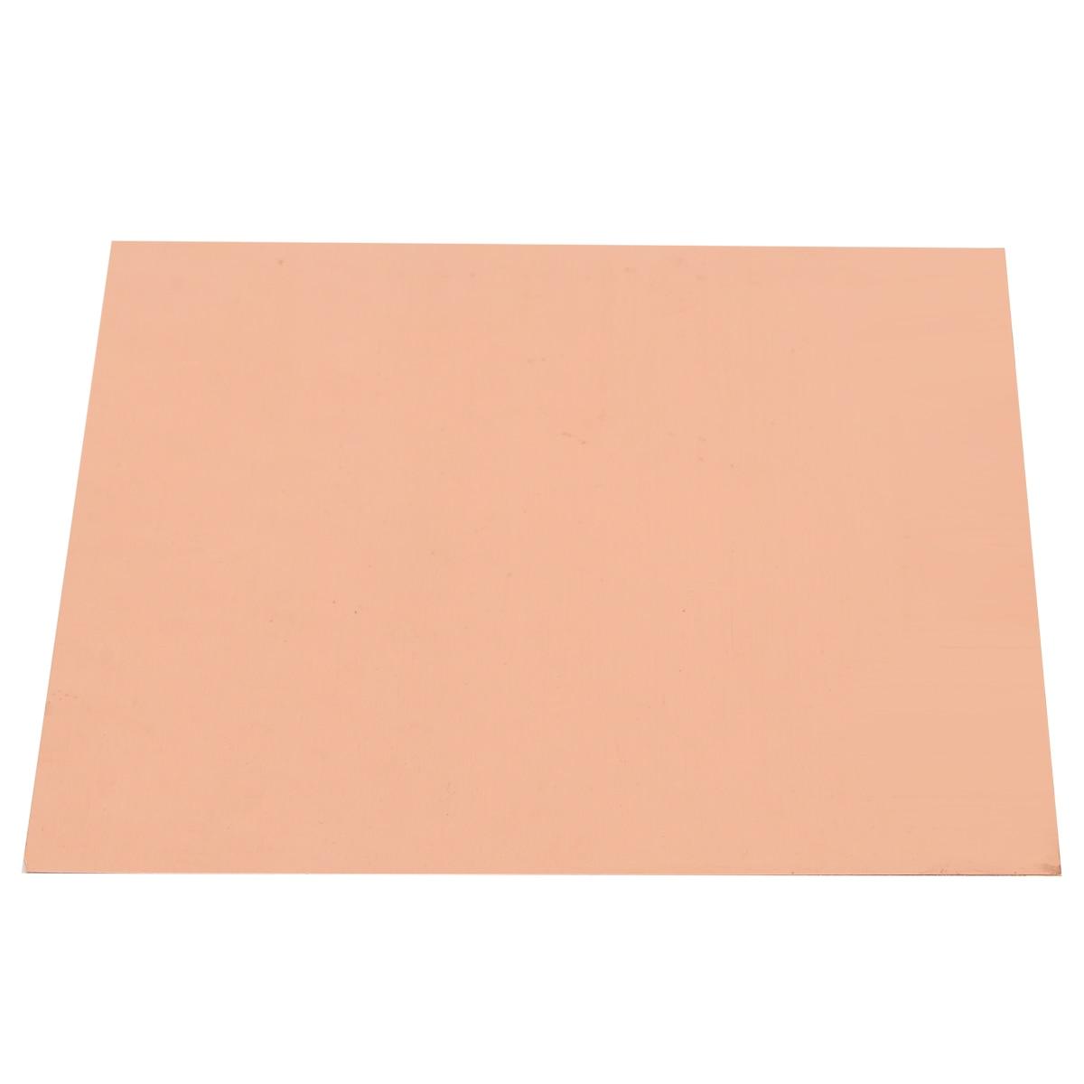 99 9 High Purity Copper Sheet Cu Metal Flat Foil 0 2mm