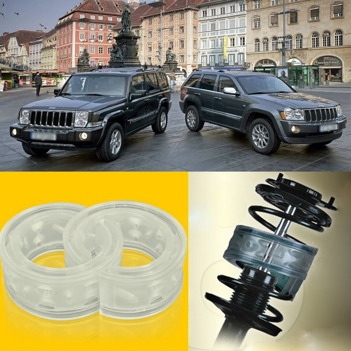 Super Power Front Shock Absorber Coil Spring Cushion Buffer Jeep Commander - igarage store