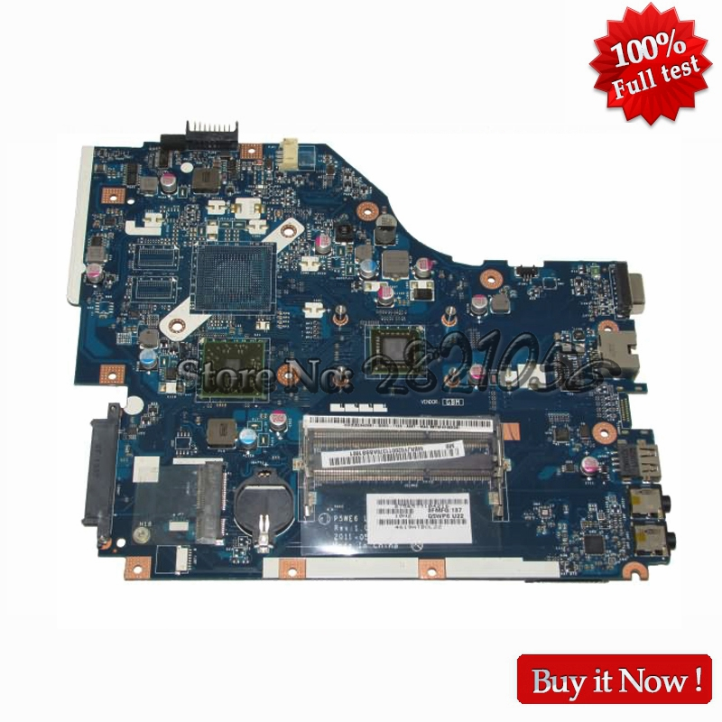 NOKOTION Laptop Motherboard For Acer aspire 5250 5253 Main Board MBRJY02001 LA-7092P CPU Onboard DDR3 nokotion main board for hp 240 g3 laptop motherboard zs040 la a995p n3530 cpu ddr3 full test