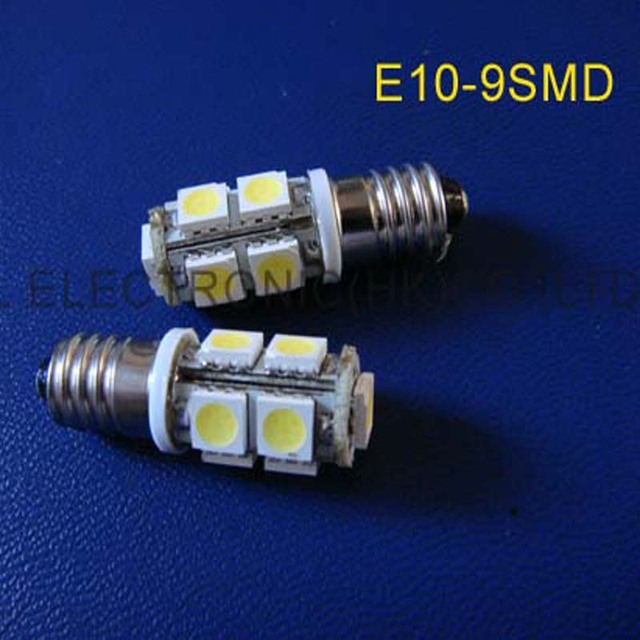 high quality 12v e10 led lighting,e10 led car bulbs,e10 led car