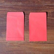 20 шт красный пустой конверт Канцелярский набор подарочные карты Конверты Почтовые карты фото письма хранения вечерние бумажный пакет 10x7 см+ 1,5 см
