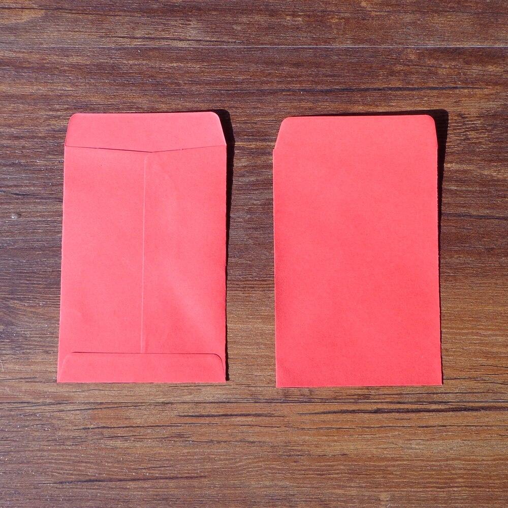 20pcs red blank envelope stationery set gift card