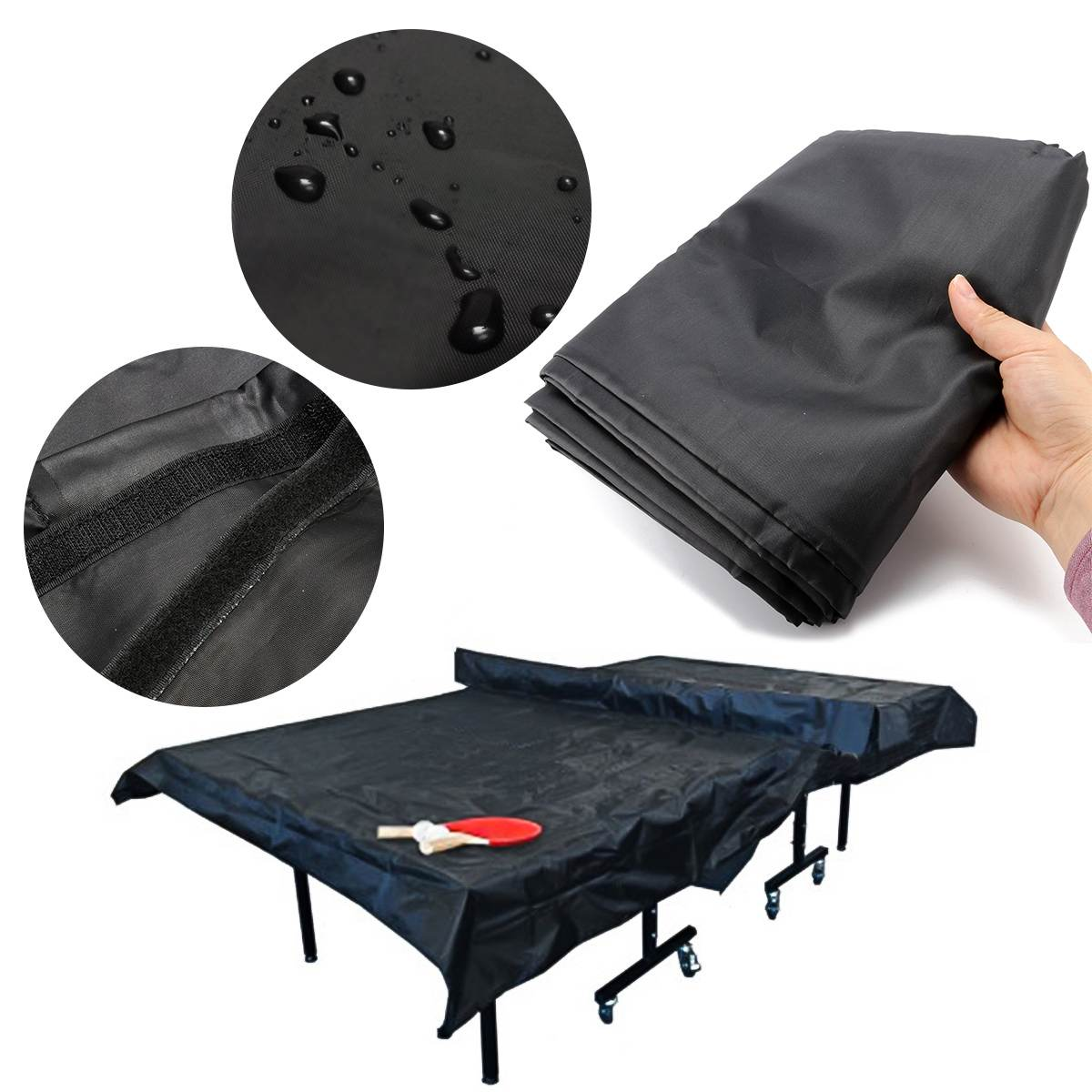 308x160x16cm High quality UV Resistance Indoor Waterproof Cover Upright Flat Table Tennis Table Cover308x160x16cm High quality UV Resistance Indoor Waterproof Cover Upright Flat Table Tennis Table Cover