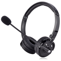 Wireless Bluetooth V4.1 CSR Headphones Hands Free Audio Cordless Headset with Microphone For iPhone PC Computer Office