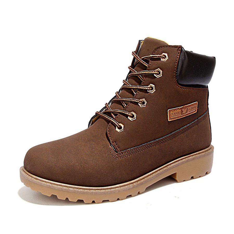 2016 Autumn & Winter Brand Men Shoes Short Martin Boots ...