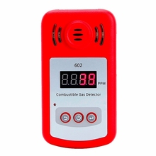 цена на New Come Portable Mini Combustible Gas Detector Analyzer Gas Leak Tester With Sound And Light Alarm Gas Leak