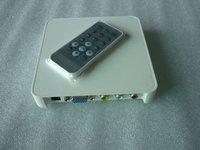 iPlayer Media Box,Auto Play Movie or Image Files SD/MMC/USB Driver Reader Resume play VGA interface