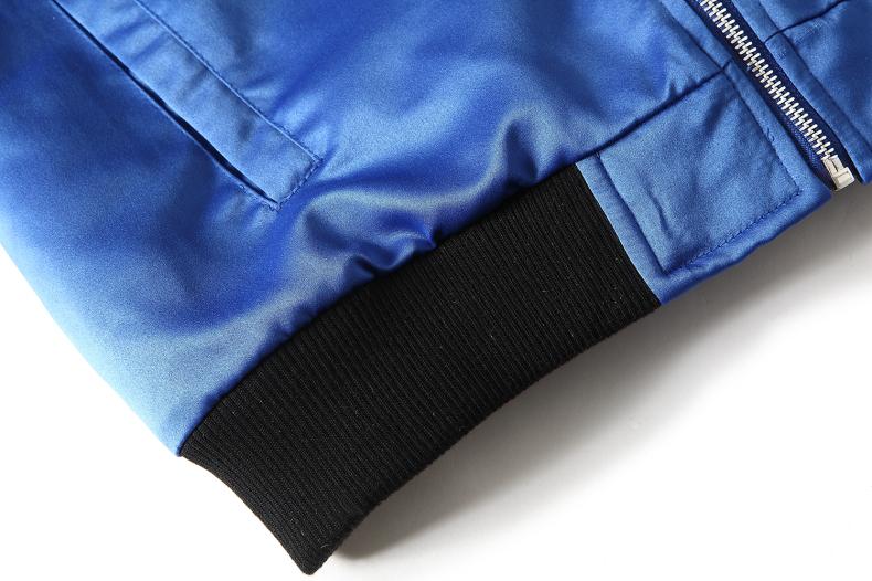 Custom Embroidered Satin Jacket 14