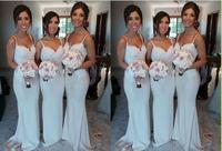 Sweetheart Lace Bridesmaid Gown Navy Blue/Peach/Ivory/Champagne/Red/Silver/Yellow Lace Chiffon Bridesmaid Dresses Free Shipping
