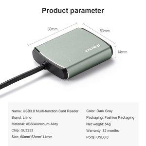 Image 3 - llano 4 in 1 USB 3.0 Smart Card Reader Flash Multi Memory Card Reader for TF / SD / MS / CF 4 Card Read micro SD usb flash card