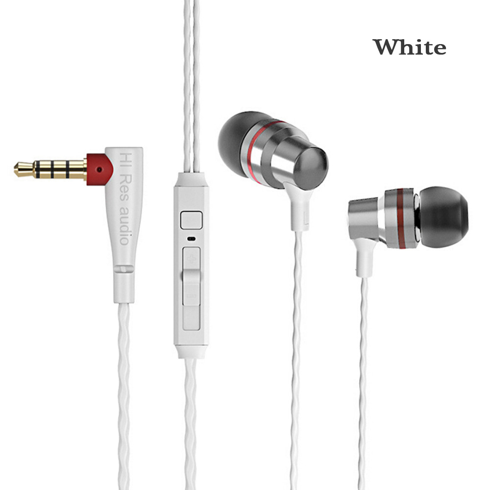Wired Earphone Headset Portable In-ear Earphone Hifi Stereo Earbuds Bass with Mic Earphones for Smartphones fone de ouvido