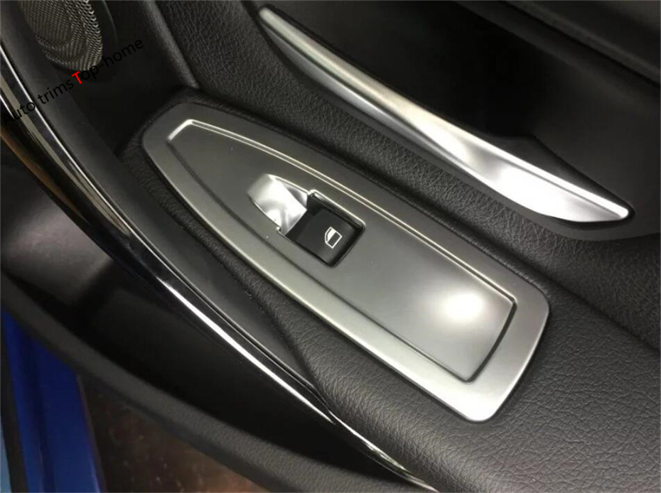 Interior Mouldings Yimaautotrims 2 Color For Honda Civic 2016 2017 2018 Abs Accessories Inner Door Armrest Window Lift Button Cover Interior Trim