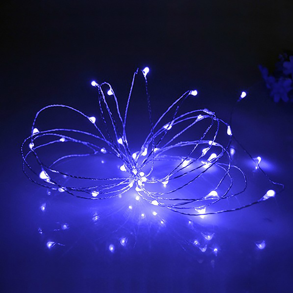 3 M30 LED AAA Battery Operated LED Silver Wire String Light Mini LED String for Camping Tent Lighting Holiday Festival DECO