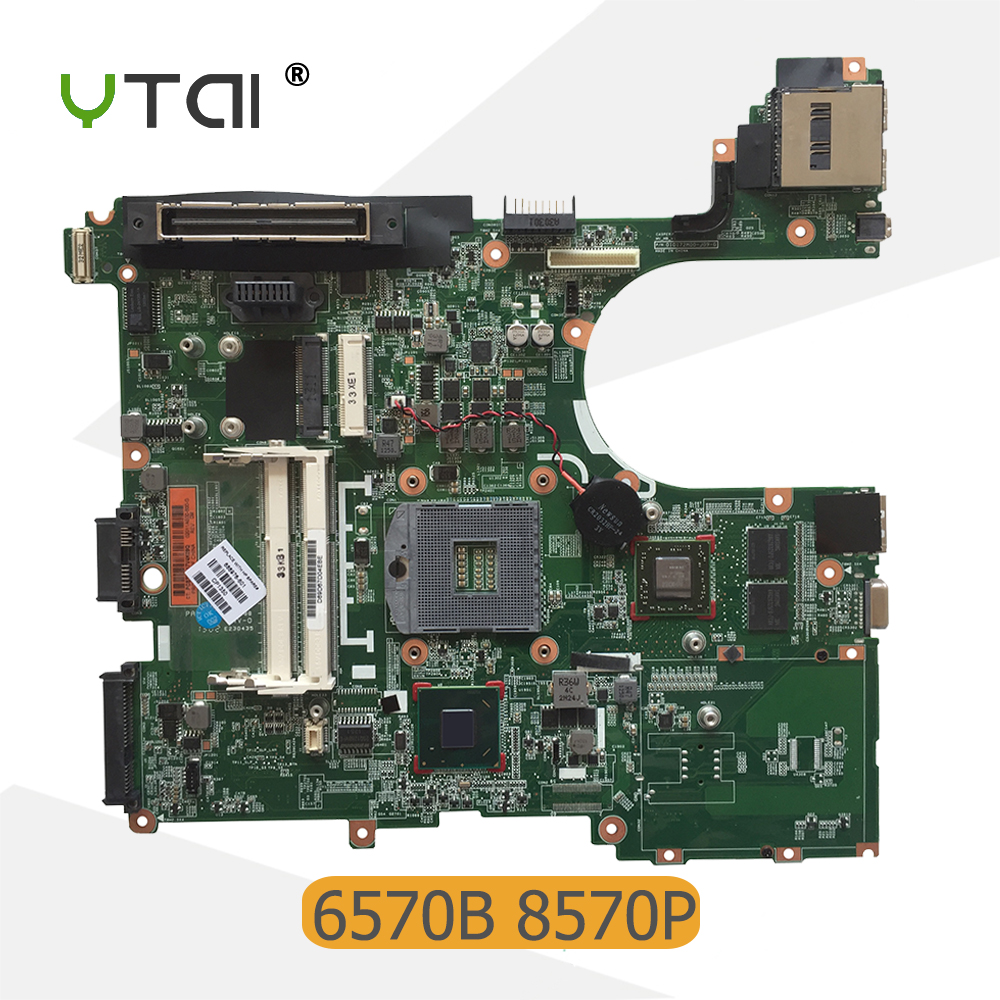 YTAI for Hp Elitebook 6570B 8570P laptop motherboard DDR3 PGA988B HM77 686976-601 motherboard 100% tested for hp laptop motherboard 6570b 686975 001motherboard 100% tested 60 days warranty