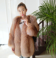Women's Fur Coat Fox Fur Coat Private Customized